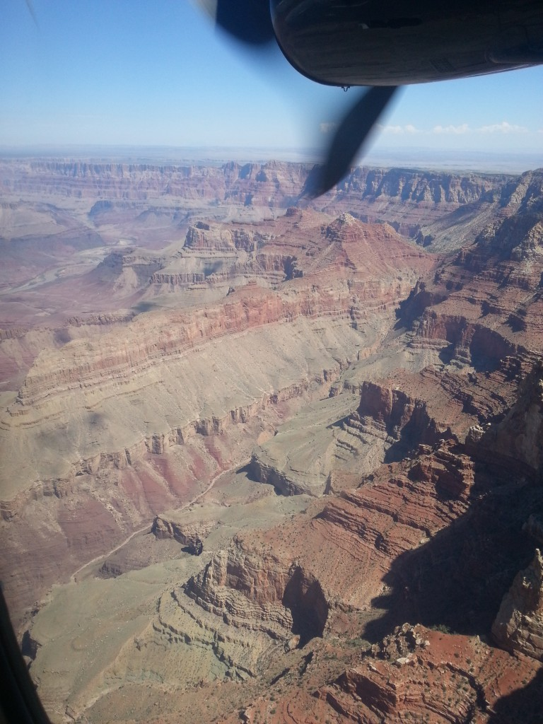 Aerial View of the Grand Canyon