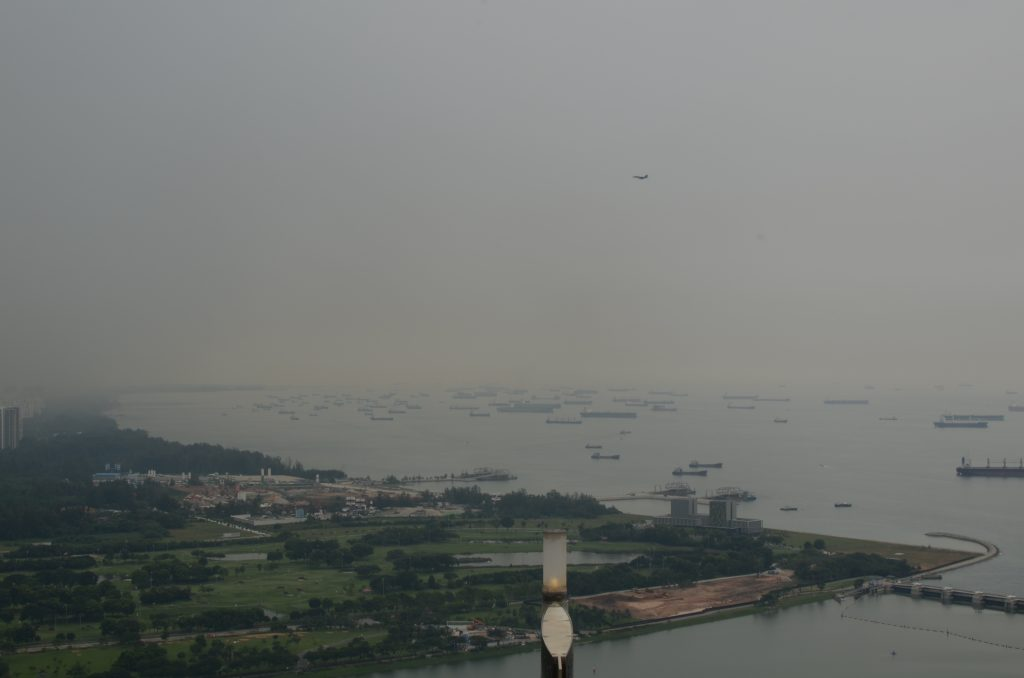 View of the Bay from Marina Sands