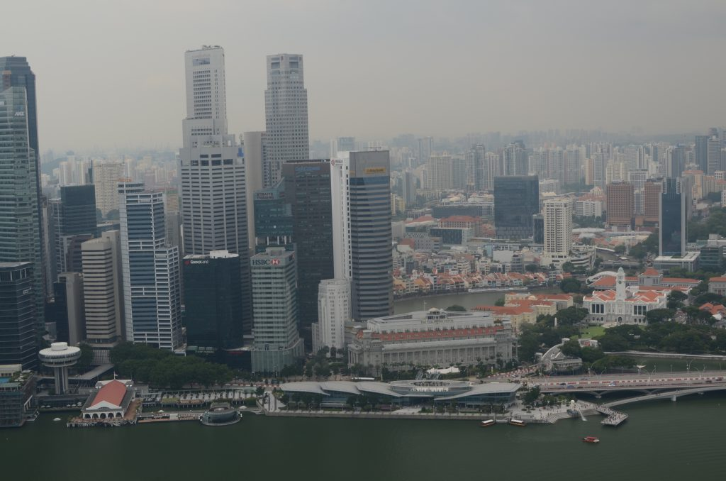 View from Marina Sands