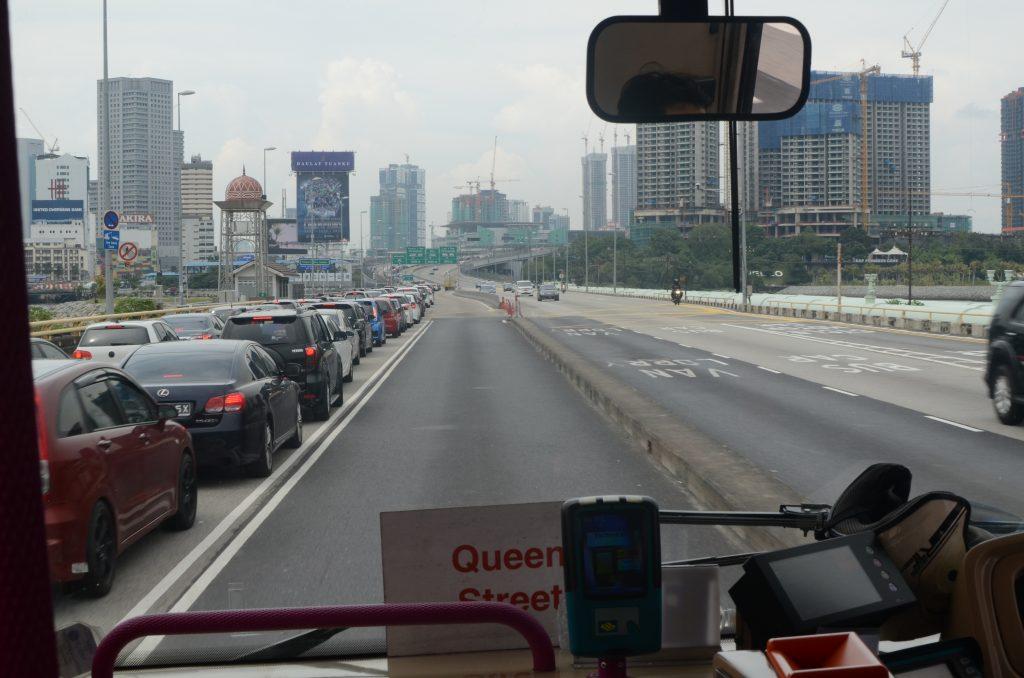 Bus to Johor Bahru, Malaysia