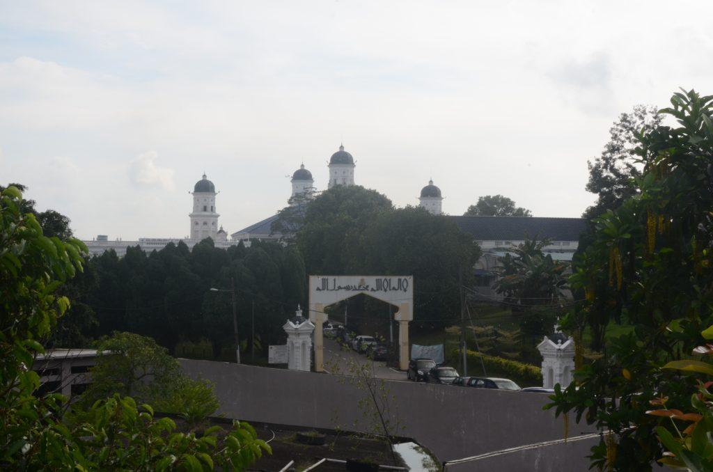 Mosque Near Johor Bahru Zoo