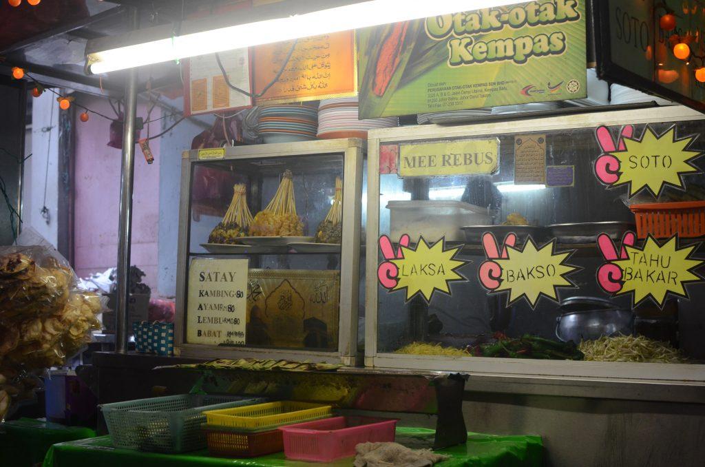 Food stall in Johor Bahru, Malaysia