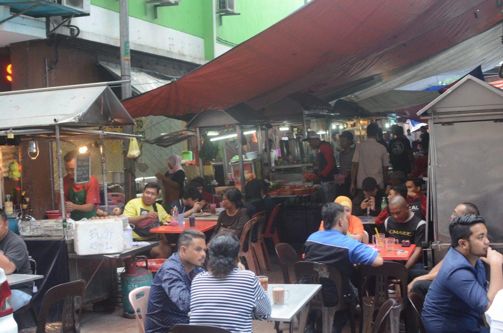 Market in Johor Bahru