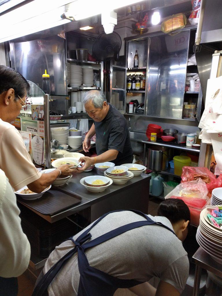 Tai Wah Pork Noodle, Hong Lim Market, Singapore