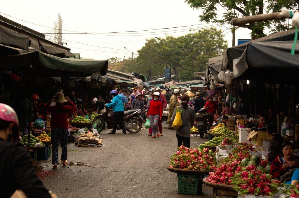 Market in Hue