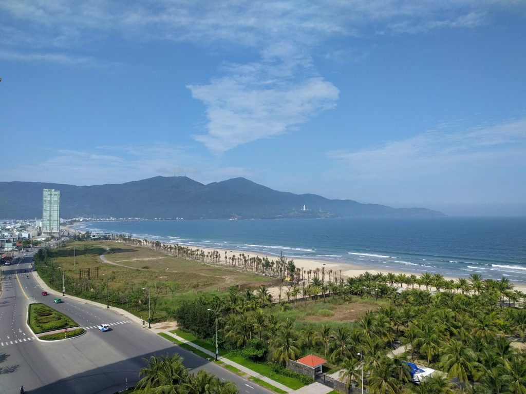 View from the Hotel in Da Nang